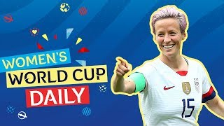 Rapinoe double sinks Spain as USA march on   Women's World Cup Daily