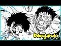 DRAWING LUFFY VS KATAKURI - Manga Style - Mirror World Epic Fight - One Piece