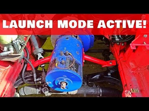 €1,000 BMW E36 EV Build 06 : Motor Installation