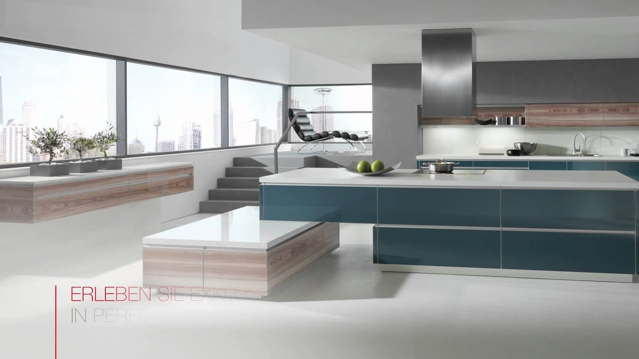 Cucina Ultramoderna Alnovetrina Alno Kitchen Glass Youtube