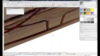 Sketchup - Wire End Table Modeling