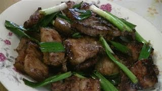 Braised Pork Belly Cantonese Style   (traditional Chinese Cooking)