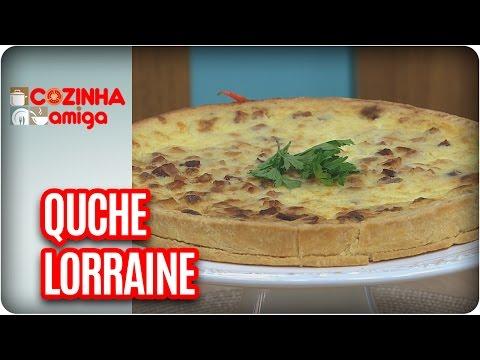 Quiche Lorraine - Chef Gabriel Barone | Cozinha Amiga (10/03/17)
