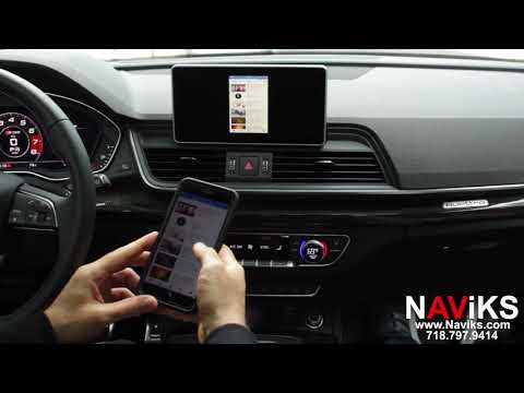 2018 Audi Q5 MIB2 NAViKS HDMI Video Interface Add Apple TV 4