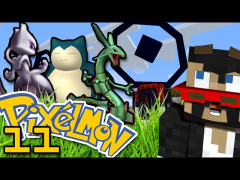 Minecraft: Pokemon Ep. 11 - POKESTOPS AND EGGS SO SICK