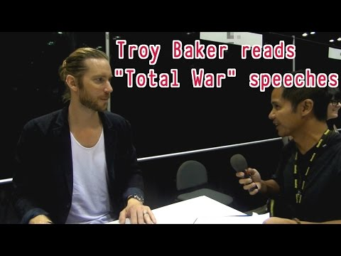Troy Baker reads Total War speeches