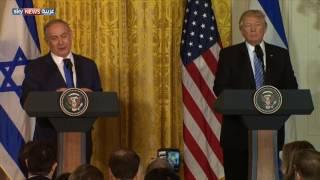 ترامب: حل الدولتين ليس شرطاً