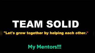 TEAM SOLID (My Mentors)