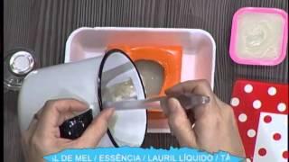 Sabonete esfoliante de aveia 2da parte