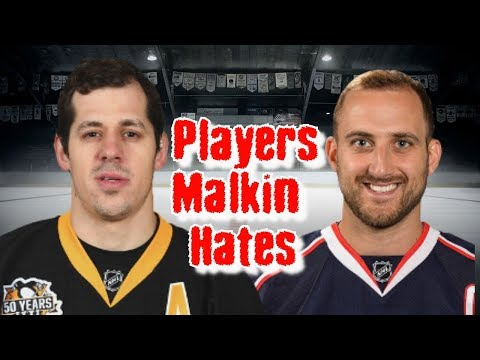 Evgeni Malkin/Five Players That He HATES