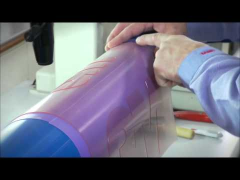 Flexographic Printing Plate Mounting Youtube