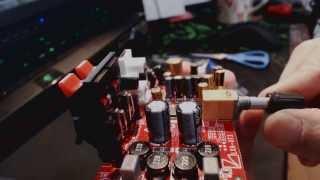 開封 luxman stereo デジタルアンプ lxa ot3