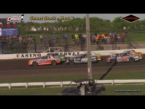 Street Stock Heats - Casino Speedway - 6/3/18