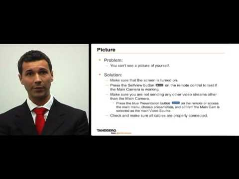Video Conferencing - Simple Fault Finding