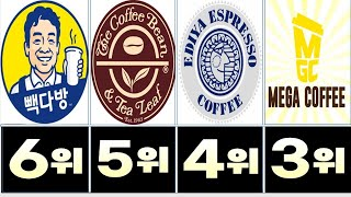 커피 전문점 인기순위 …