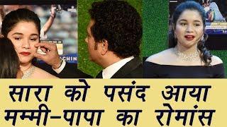 Sachin A Billion Dreams: Daughter Sara likes Sachin-Anjali Love Story in film; Watch Video FilmiBeat