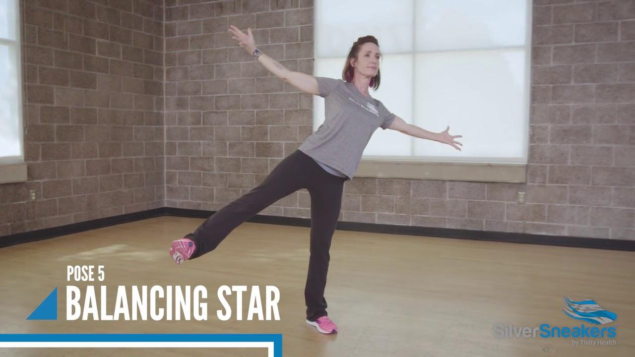 8 Yoga Poses That Improve Balance - YouTube
