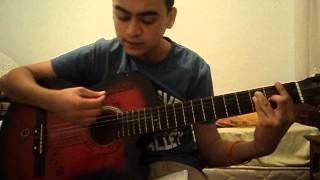 Onur Koç ondört bahar gitar  cover (amatör)