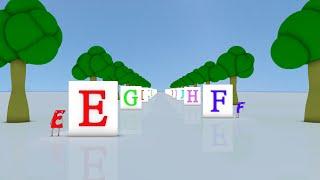 Learn ABC rhyme for Kids │ Falling Blocks | Nursery Rhyme and Kids Song