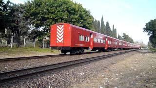 Compilado de 8 GM G-22 de Ferrovías en Vicente López 12-07-11