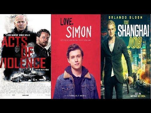 Trailer Thursdays: Acts Of Violence, Love Simon, The Shanghai Job
