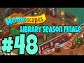 HOMESCAPES Gameplay Story Walkthrough Part #48 | New Library Area Day 3 and Newsfeed Ending