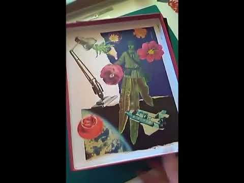 A box collage