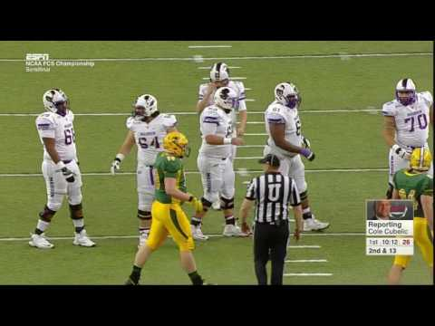 James Madison vs North Dakota State 2016 FCS Semifinals