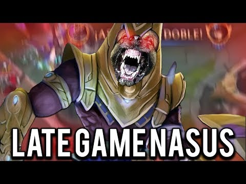 NASUS LATE GAME.... THEY DON'T WANNA SEE IT!!! - Trick2G