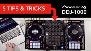 5 Tips & Tricks on the Pioneer DDJ-1000