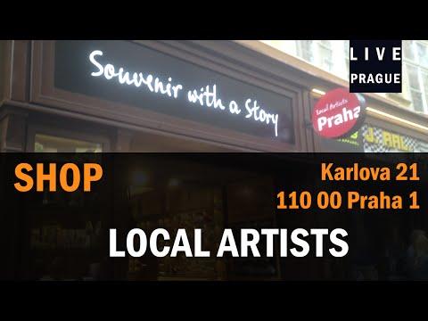 Shop in Prague -   Local Artists -  Karlova 21 -  Souvenir - Handmade Souvenir -