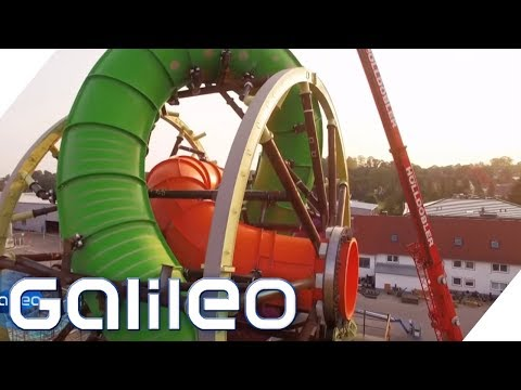 Die Freizeitparkmesse: Das sind die neuesten Attraktionen | Galileo | ProSieben