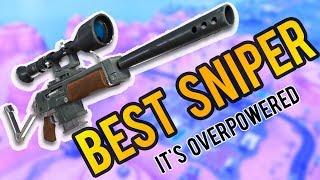 The Semi Sniper in Fortnite is OP