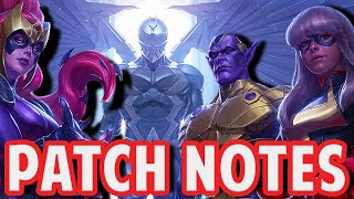 THANE FREE! SCARLET WITCH BUFF! BEST UPDATE 2020? - Marvel Future Fight