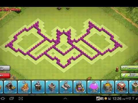 Base Coc Th 7 Batman 10