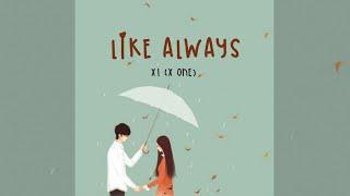 X1 - Like Always (웃을 때 제일 예뻐) - Lyrics [Han/Rom/Ind/SUB INDO]