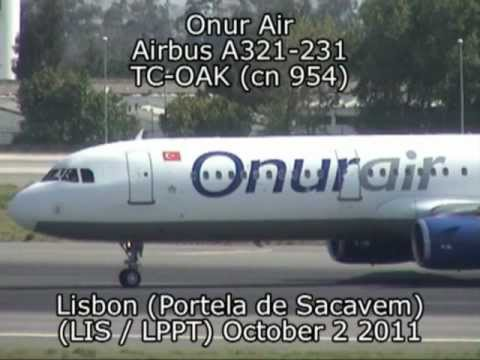 Onur Air Airbus A321-231 TC-OAK (cn 954)