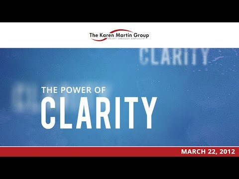 The Outstanding Organization - The Power of Clarity