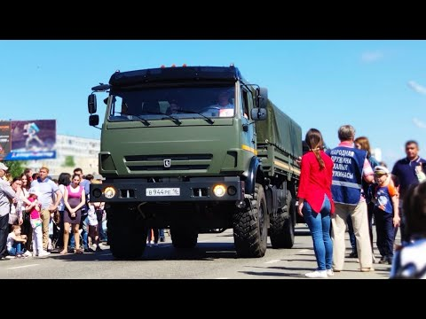 Парад военной техники 9-го мая в городе Набережные Челны!