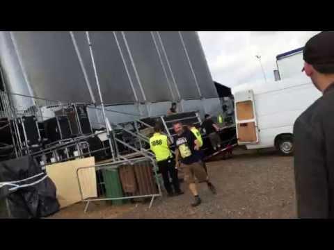 Backstage @ Download Festival (Bring Me The Horizon)