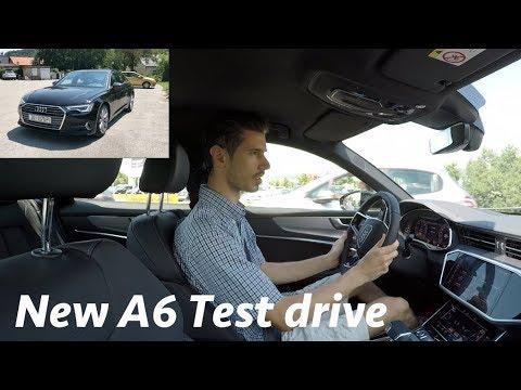 Audi A6 test drive - better than BMW 5 or Mercedes E class?