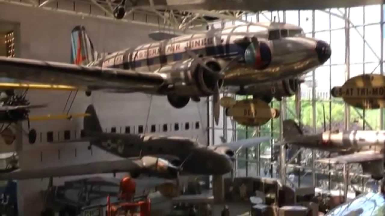 National Air Space Museum Smithsonian Downtown Washington D C