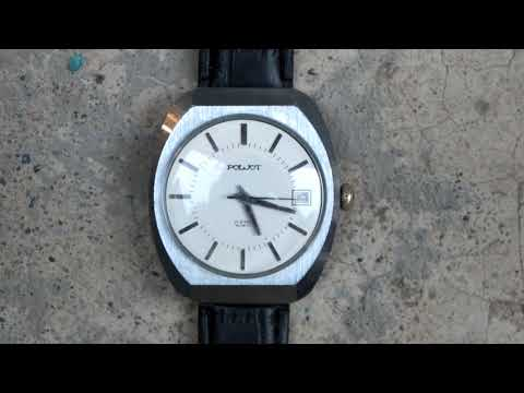 Vintage Poljot (Полёт) 23 Jewels  Mechanical Automatic USSR Watch.
