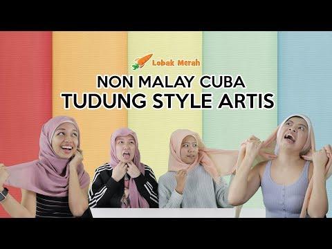 Non-Malay Cuba Tudung Style Artis
