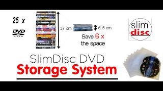 SlimDisc DVD Storage System Demonstration