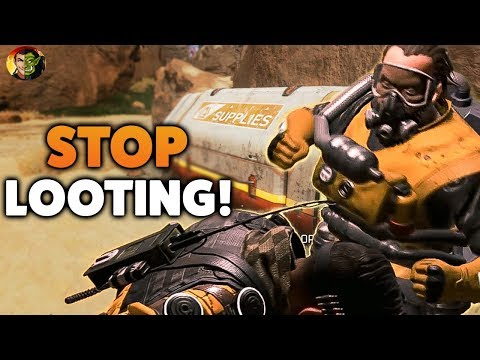 APEX TALES: TOXIC PLAYER RAGED AT ME FOR LOOTING