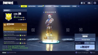 Fortnite with the squad 7