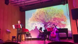 И С Бах Allegro из Двойного концерта ля минор переложение для ансамбля
