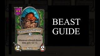 How To Build Beast | Beginner's Guide | Hearthstone Battlegrounds Beta | HS Auto Battler