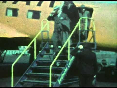 1938 Berlin - Filming Tempelhof Airport in Color (HD)